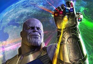 Thanos design infinity gauntlet