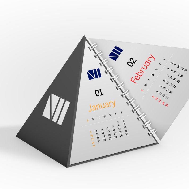 Pyramid calendar view 3